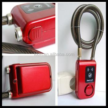 Popular Bluetooth Door Gate Lock Portable Stainless Keyless Door Gate Padlock Top Quality Smart Beautiful - Luxury best bluetooth door lock Picture