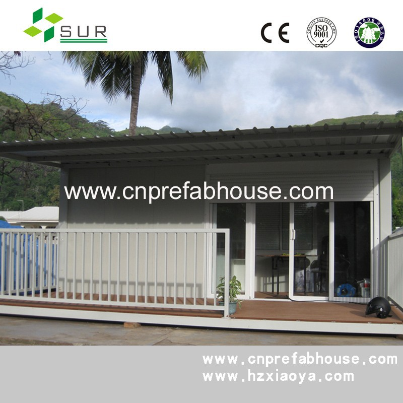 Modular Prefabricated Solar Power Supported Container Home