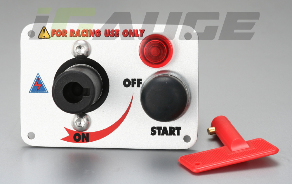 car race racing ignition switch with flip up cover push start power switch panel kit buy