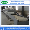 Clean Vegetable and Fruit wood industrial Microwave Drying machinery