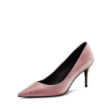 Latest Fashion Sexy Pink Pointed Toe Women Bridal Shoes Custom