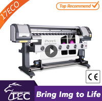 hot 1.6m amazing eco solvent one way vision pva film printing machine