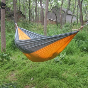 Parachute nylon fabric rocking hammock military hammock