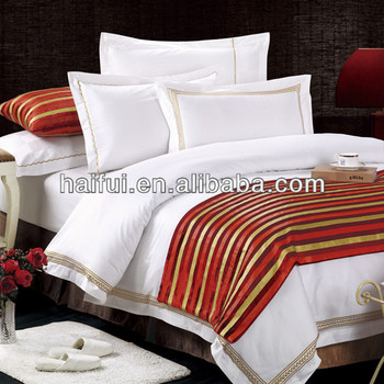 Hotel style bedding sets bed sheet bed linen buy hotel for Hotel style comforter