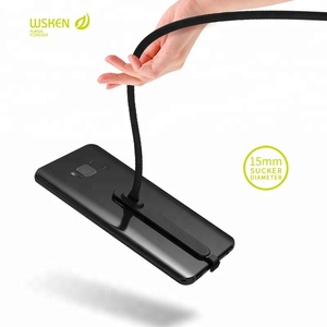 2018 WSKEN Factory Hand Tour Charging Cable, WSKEN 90 Degree Bend Design Phone Playing Game Watching Movie USB Charging Cable