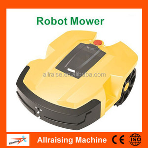 Automatic robot lawn mower cordless