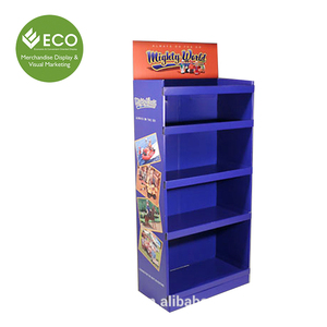 Five Layers Cardboard Carton display Shelf For Children's Toys Used In Retail Store