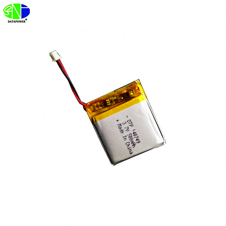 High rate discharge li-polymer 3.7v 500mAh lipo rechargeable battery 752540 rc lithium battery with long