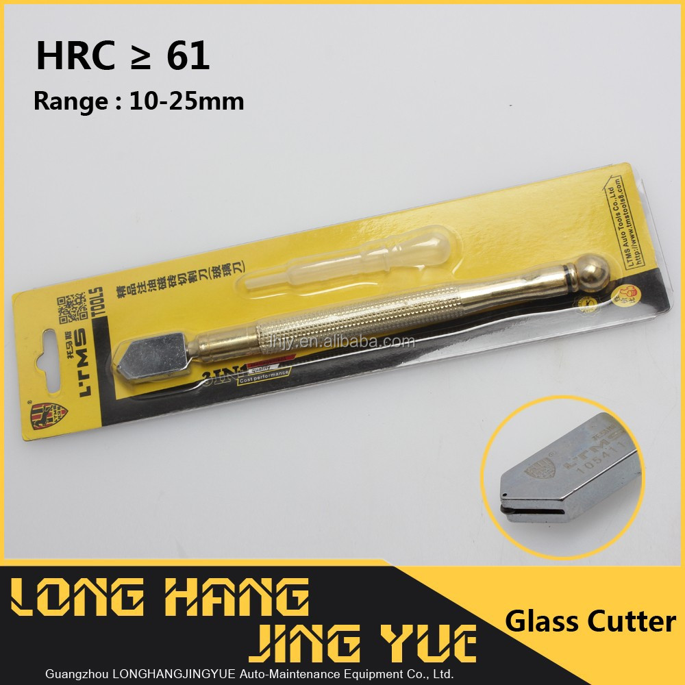 YD05 Carbon Steel glass Knife , HRC 61 Glass Cutter pen