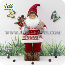 New Christmas Colors 2017 Mr Santa Claus Holiday Living Santa