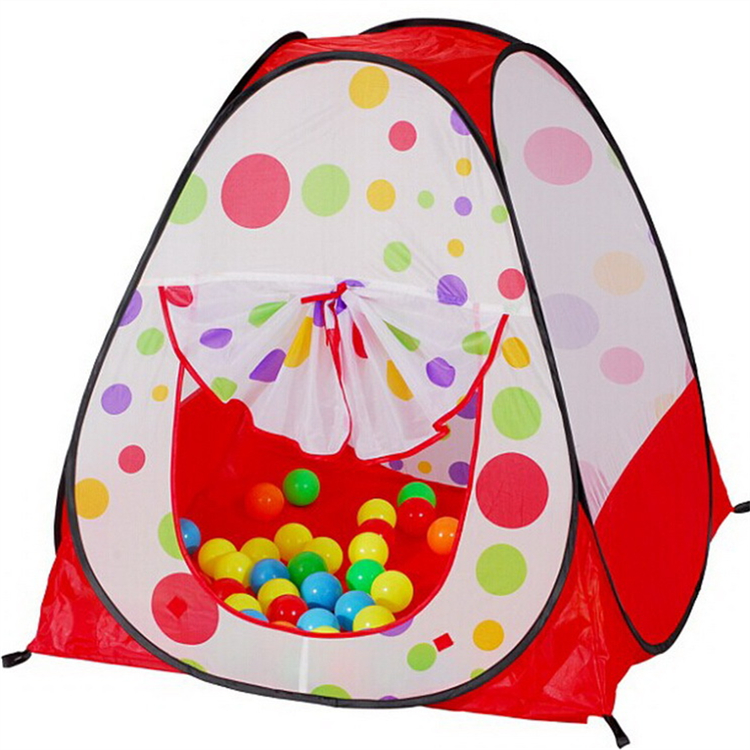 Portable Outdoor Durable Folding Princess Castle Waterproof Kids Children Game Toy Play Tent