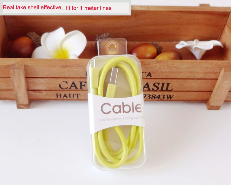 Top Quality USB Cable Packing Box ,packaging design cell phone accessories
