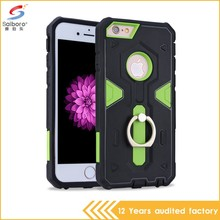 Anti-scratch high quality design smart dot view case cover for iphone 6