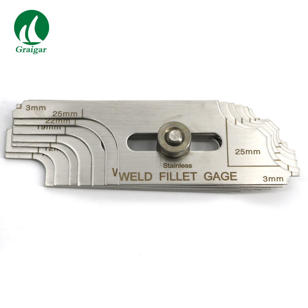 Free Shipping Welding Measure Gauge kits Combine Suit,13 Pieces Weld Gauge