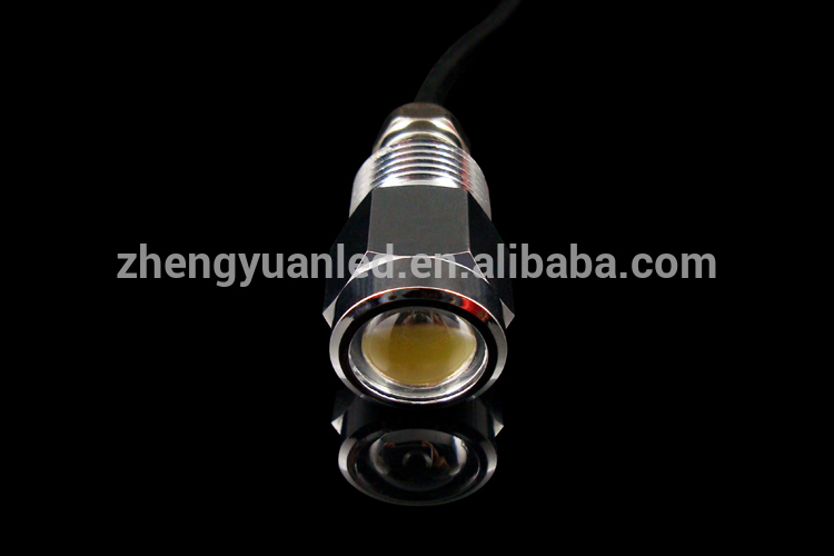 IP68 800LM High Quality boat led drain plug light LED underwater light for boat/ yacht/fishing