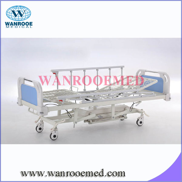 BAH503 Movable Five Functions Recovery Hydraulic Bed For Patient With ABS Headboard