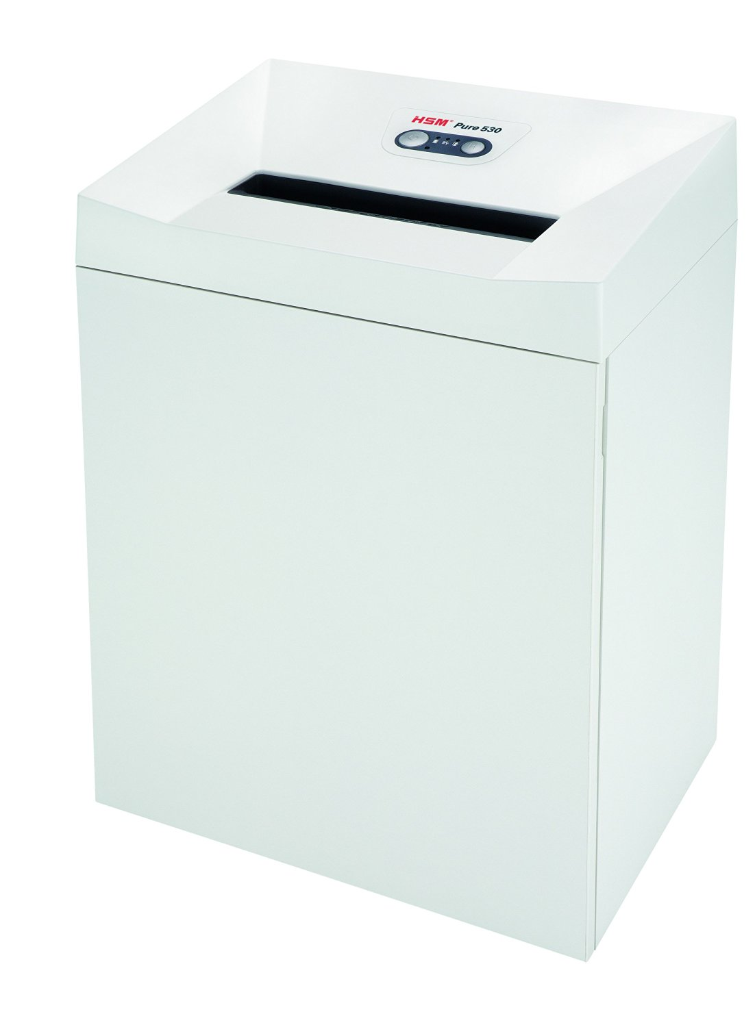 HSM Pure 530c Cross-Cut; Shreds up to 18 Sheets; 21-Gallon Capacity Continuous Operation Shredder