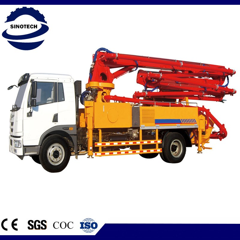 Good Performance 29m truck concrete pump