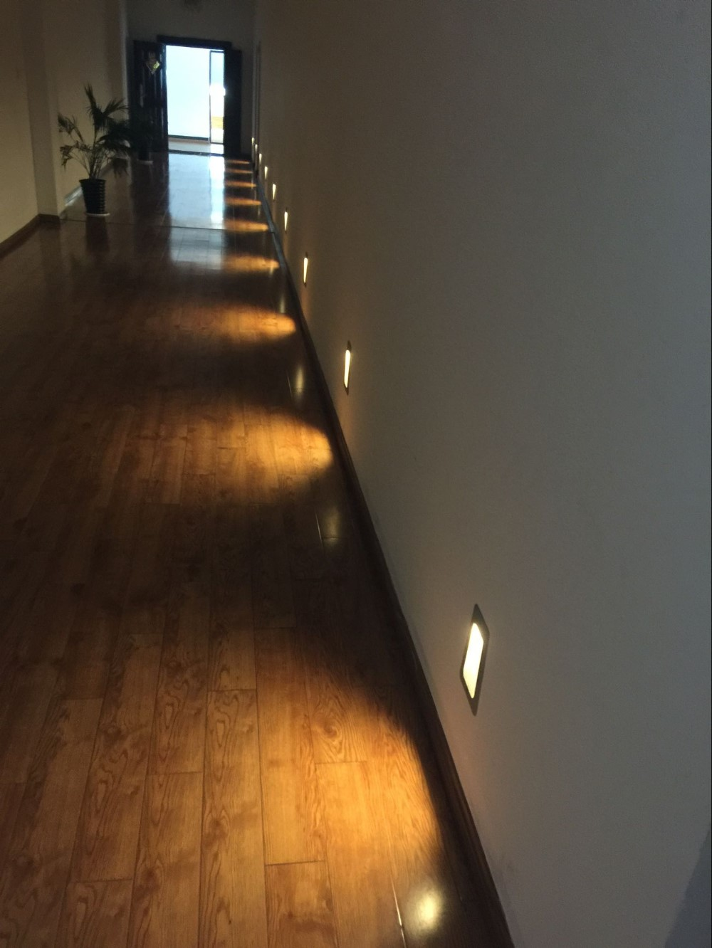 Outdoor/indoor 3w 6w Recessed Led Step Light/ Stair Light Wall Led ...