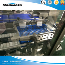 Packing machine for liquids and creams, bag in box filler machine aseptic