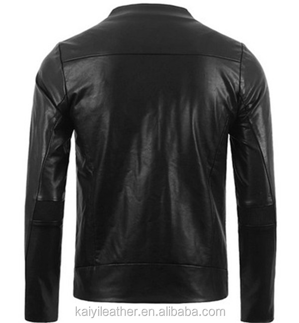 Simple Style Leather Jacket Bangladesh Garment Industry