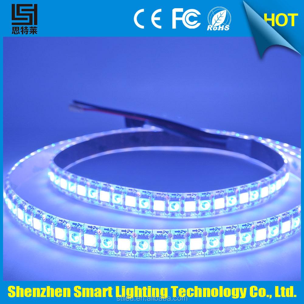 가장 인기있는 이내에 IC SK6812RGB + W led 스트립 사용 조명기구 ...