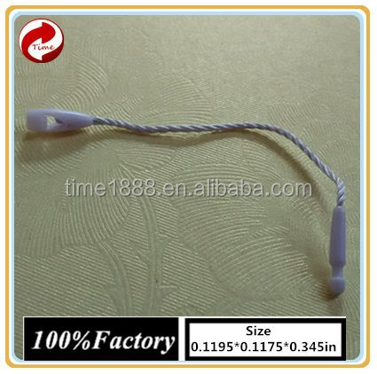 2015 GZ-Time Customized supply typical short hang tags string for bags/rouser