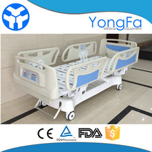 YFD5618K 5 function ICU hospital electric bed with l&k motor