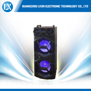 Double 10 inch trolley with big lound speaker professional speaker