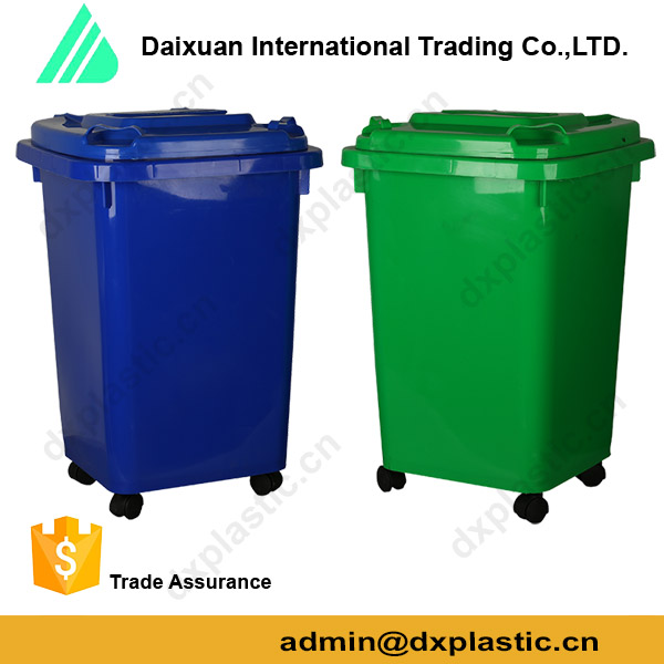 Waste Plastics Recycling Waste Bins Trash Cans for Outdoor