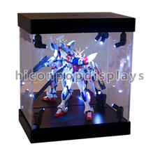 Multi-Function Supermarket Counter Top Light Up Led Illuminated Acrylic Or Glass Toy Display Case