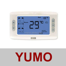 AC206 Series large screen LCD Room Thermostat with PI control