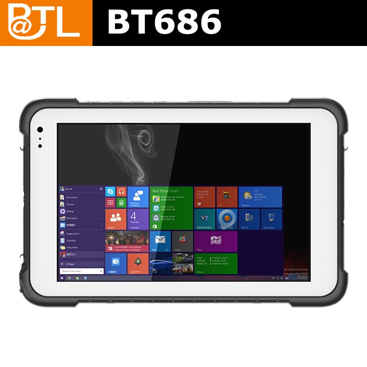 BATL BT686 Quality-Assured Sell Well Win 10 Based Rugged Tablet Pc