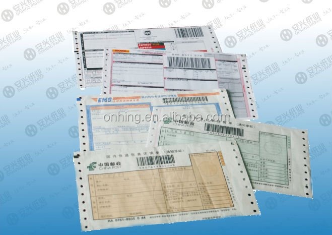 Customerized courier bill / bill of loading printing / consignment note
