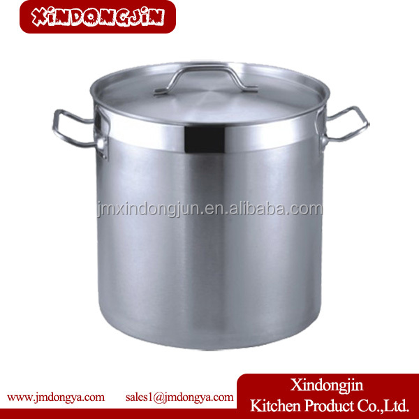 YK-2525 stainless steel hot pot, 100l stainless steel pot, stainless steel double bottom cooking pot