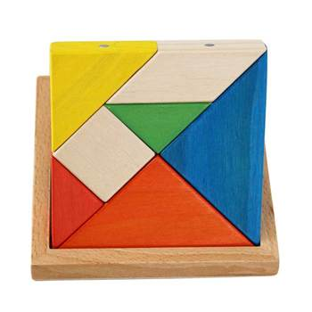 High Quality Birthday Holiday Gift Toy For Kids Magnetic Wooden Puzzles