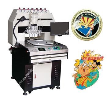 6 Color Lapel Pin Enamelling Machine Wd600 Pa6cv - Buy Lapel Pin Enamelling  Machine,Lapel Pin Enamelling Machine,Lapel Pin Enamelling Machine Product