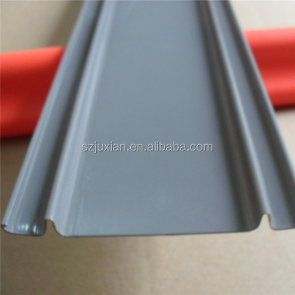 extrusion 250mm wide 3mm thickness pvc plastic flat profile