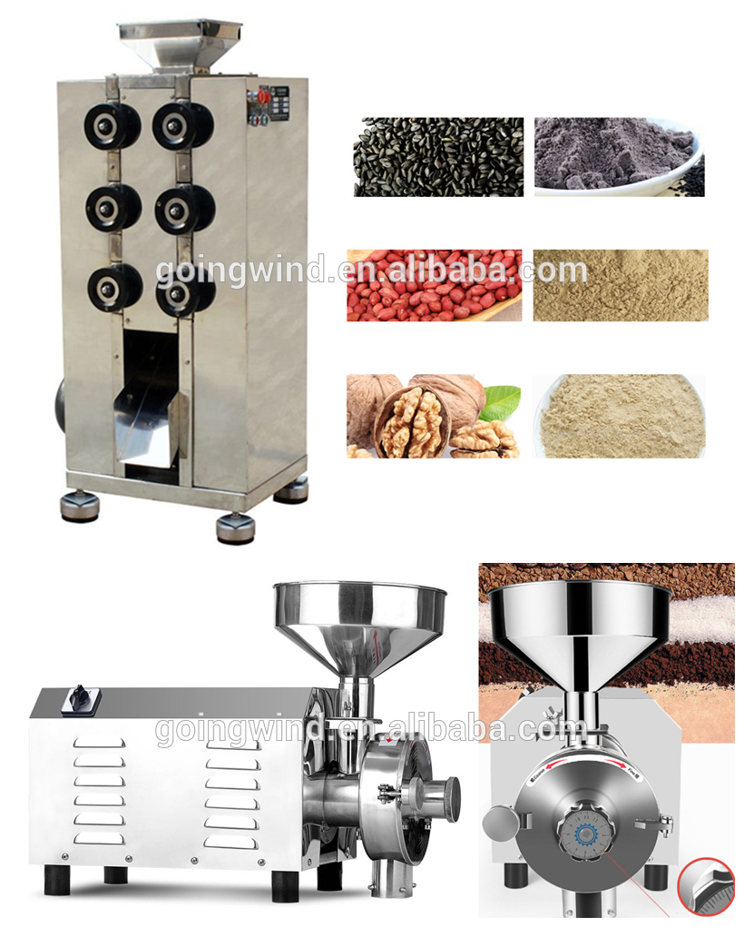 Automatic dried banana grinding machine auto dry plantain grinder fruit pulverizer flour machinery cheap price for sale