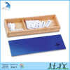 Children early education solid wood customized montessori math set