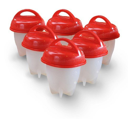 Get Quotations Egg Poacher Cups Egglettes Cooker Hard Boiled Eggs Without S Stick Poaching Pods For Cooking