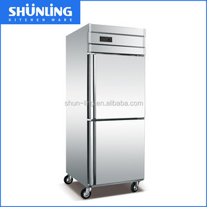 New 2 Doors Made In China Commercial Deep freezer refrigerator
