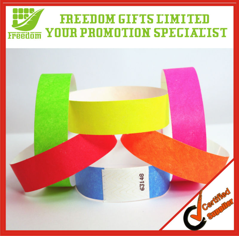 Give Away Printed Tyvek Wristbands