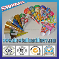 disposal design ice cream paper cone /cup sleeve