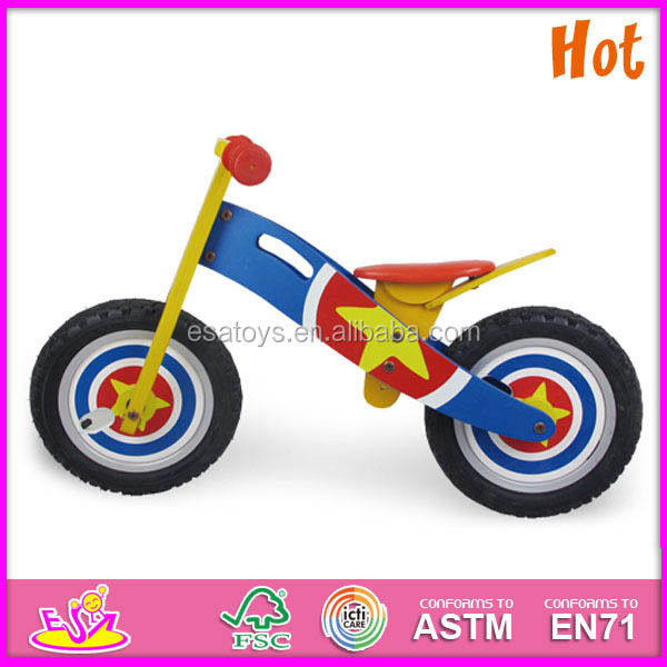 Wholesale 2016 high quality wooden children bike,best sale wooden ...