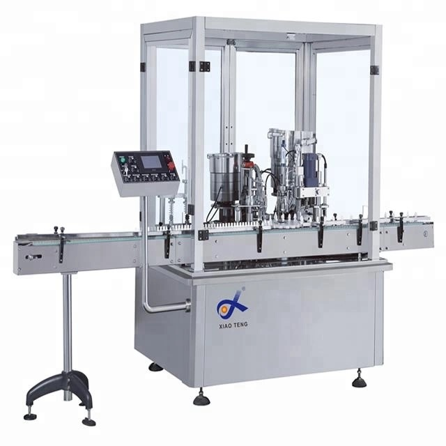 2019 Shanghai Factory Best price auto sauce filling capping and labeling machine