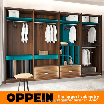Guangzhou muebles del dormitorio armario de madera armario for Fabricante de muebles de madera