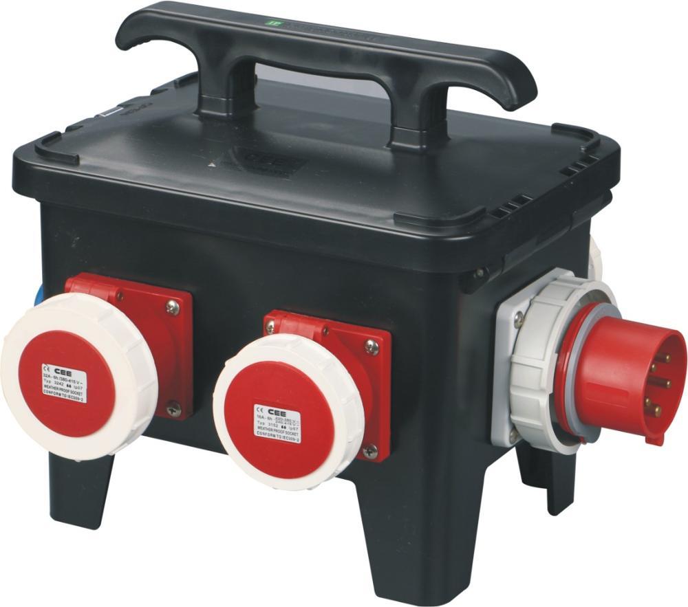 New design industrial distribution plug socket outlet box