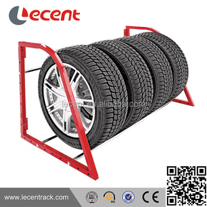 Garage Wall Mount wheel tire display tire rack
