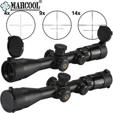 Long Range 4-14X44 RIiflescope Red và Green Illuminated RIFLE PHẠM VI OEM CÓ SẴN